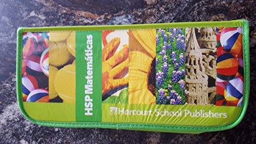 9780153669033: HSP Math: Student Manipulative Kit Grade K