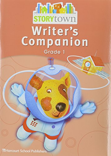 9780153670725: Storytown: Writer's Companion Student Edition Grade 1