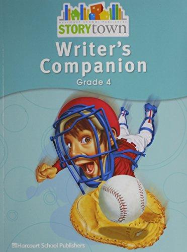9780153670756: Storytown: Writer's Companion Student Edition Grade 4