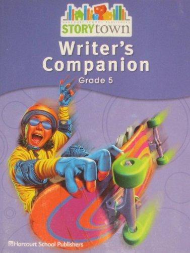 9780153670763: Storytown: Writer's Companion Student Edition Grade 5