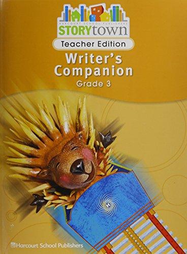 9780153670800: Storytown: Writer's Companion Teacher Edition Grade 3