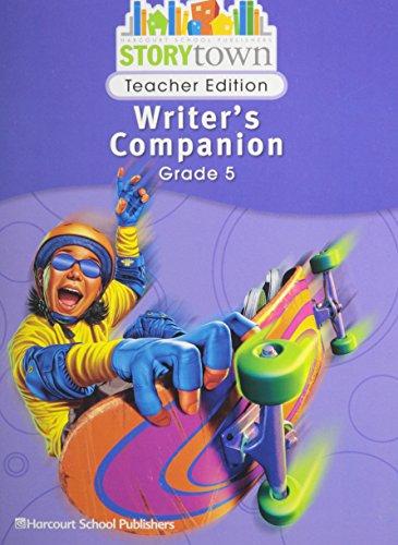 9780153670824: Storytown: Writer's Companion Teacher Edition Grade 5