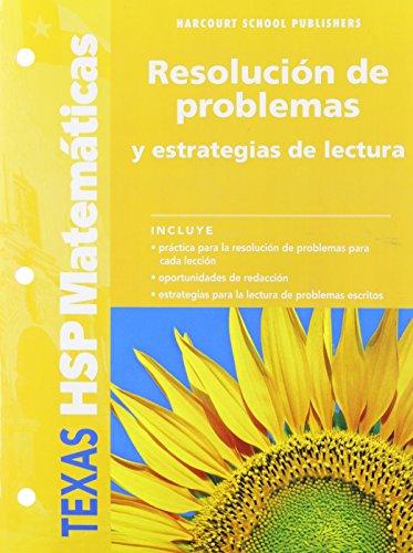 Math, Grade 4 Problem Solving & Reading: HSP