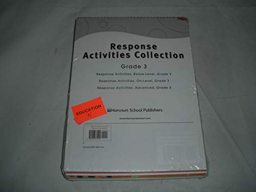 9780153674525: Storytown: Leveled Reader Response Activities Collection Grade 3