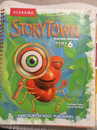 Harcourt School Publishers Storytown Alabama: Teacher's Edition Watch This! Level 1-5 Grade 1 ...