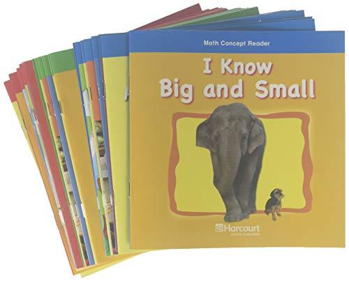 9780153685194: Harcourt School Publishers Math: Math Concept Reader Collection (1 Ea) Grade K