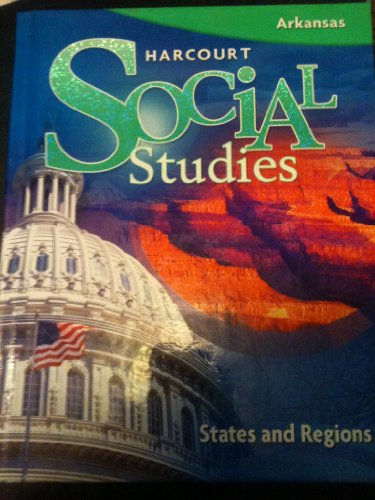 9780153686894: Harcourt Social Studies: Student Edition Grade 4 States and Regions 2009