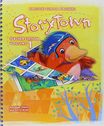 9780153721151: Storytown, Teacher Edition, Vol. 1, Grade K