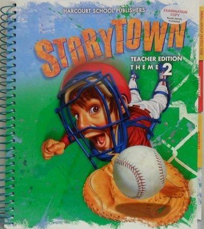 9780153721380: Storytown, Grade 4, Theme 2, Teacher Edition