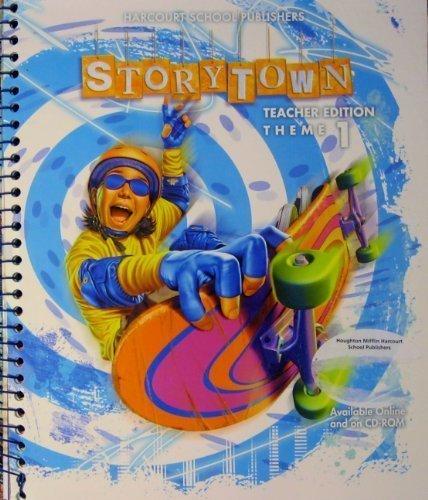 Storytown, Grade 5, Theme 5, Teacher Edition: HARCOURT SCHOOL PUBLISHERS