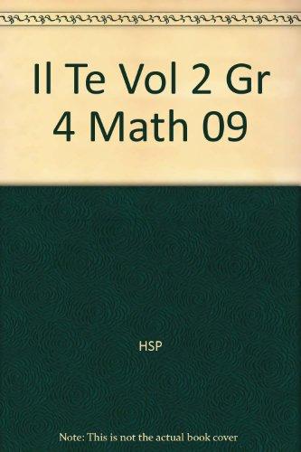 Il Te Vol 2 Gr 4 Math 09: HSP