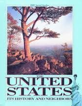 9780153726248: The United States: Its history and neighbors (HBJ social studies)