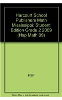 Harcourt School Publishers Math Mississippi: Student Edition Grade 2 2009: HARCOURT SCHOOL ...