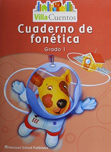 9780153743726: Villa Cuentos: Cuadernos de fonética (Phonics Practice Books) Grade 1 (Spanish Edition)