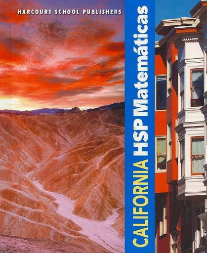 9780153750977: California HSP Matematicas