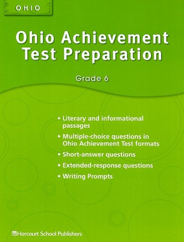 9780153752674: Storytown Ohio: Achievement Test Preparation Student Edition Grade 6
