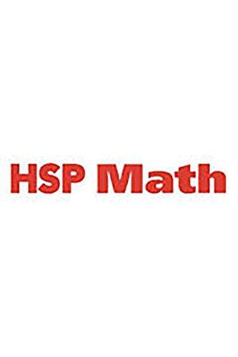 9780153755460: HSP Math: Intensive Intervention Student Skill Pack Grades 3-6