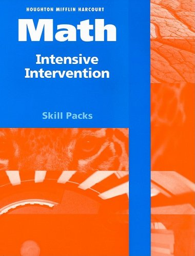 9780153770364: HSP Math: Intensive Intervention Student Skill Pack Grade 6 2009
