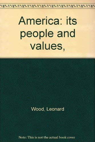 9780153778056: America: its people and values,