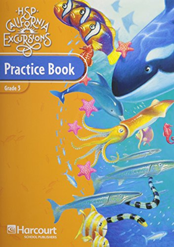9780153795053: Harcourt School Publishers Storytown California: Practice Book Student Edition Excursions 10 Grade 3