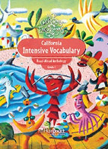 9780153799044: California Intensive Vocabulary, Read-Aloud Anthology, Grade 1 (Excursions)