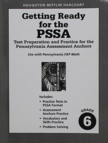9780153801655: Math, Grade 6 Practice for the Pssa: Harcourt School Publishers Math Pennsylvania (Hsp Math 09)
