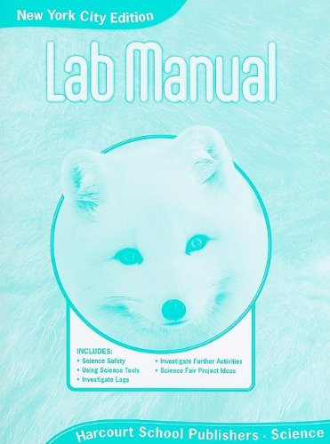 9780153813849: Harcourt Science New York: NYC Lab Manual Student Edition Science 08 Grade 1
