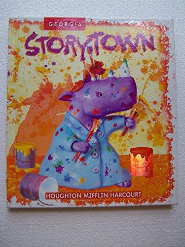 9780153815959: Harcourt School Publishers Storytown Georgia: Se Make Your Mark Level 1-4 Grade 1 2008
