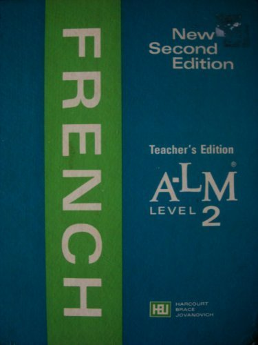 A-LM French Level 2 New Second Edition: Katia Brillie Lutz Marilynn Ray; Marie-A