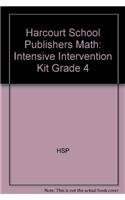 9780153823459: Intensive Intervention Kit Grade 4
