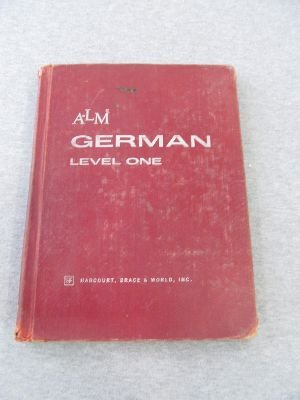 9780153838552: A-LM German: Level one