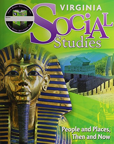 9780153843488: Houghton Mifflin Harcourt Social Studies 7 Year: Student Edition Worktext Implementation Grade 2 People And Places: Then And Now 2011