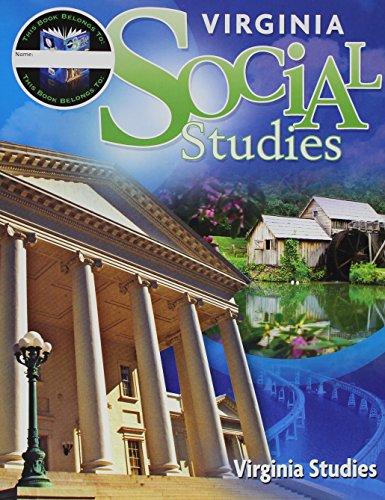 9780153843518: Houghton Mifflin Harcourt Social Studies Virginia: Student Edition Worktext 7-year Implementation Grade 4 Virginia Studies 2011