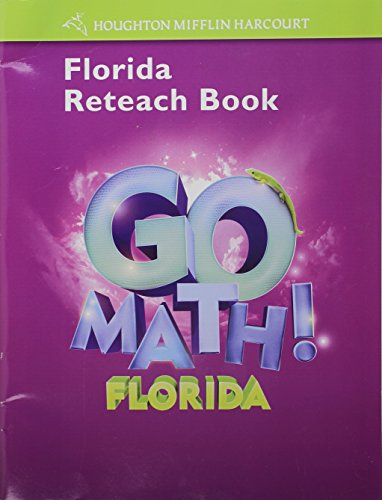 9780153854880: Houghton Mifflin Harcourt Math Florida: Reteach Workbook Student Edition Grade 3