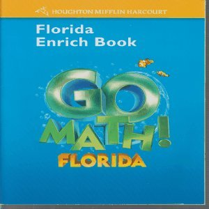 9780153854910: Houghton Mifflin Harcourt Math Florida: Enrich Workbook Student Edition Grade K
