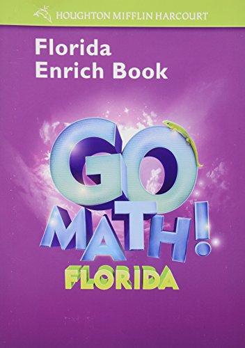 9780153854941: Houghton Mifflin Harcourt Math Florida: Enrich Workbook Student Edition Grade 3