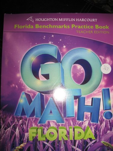 9780153858215: Houghton Mifflin Harcourt Math Florida: Benchmark Practice Book Te Level 3