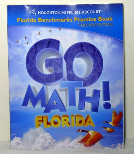 9780153858253: Houghton Mifflin Harcourt Math Florida: Benchmark Practice Book Te Level 4