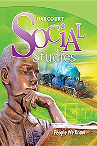 9780153858963: Harcourt Social Studies: Teacher Edition Grade 2 People We Know 2010