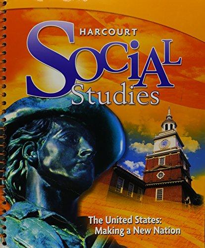 9780153859007: Harcourt Social Studies: Teacher Edition Grade 5 US: Making a New Nation 2010