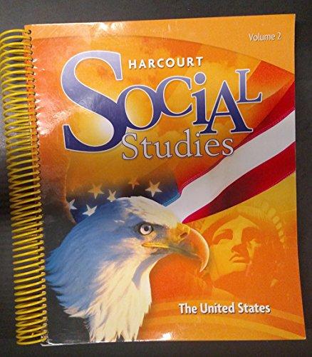 9780153859014: Harcourt Social Studies: Teacher Edition Volume 1 Grade 5 United States 2012