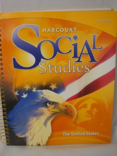 9780153859021: Harcourt Social Studies: Teacher Edition Volume 2 Grade 5 United States 2012