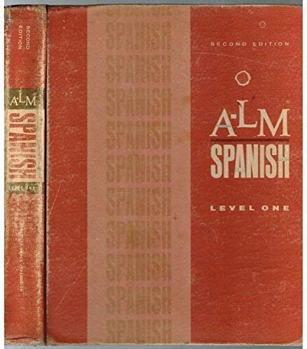 A-LM Spanish Level One: Barbara Kaminar De;