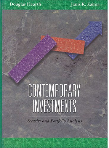 9780155000490: Contemporary Investments (The Dryden Press series in finance)