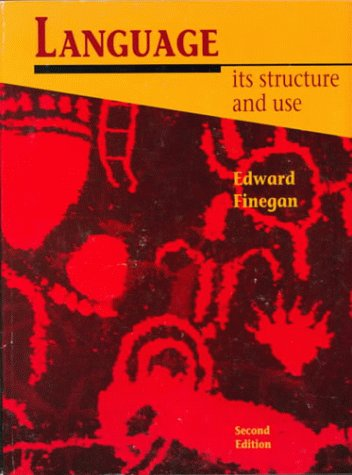 9780155001220: Language: Its Structure and Use