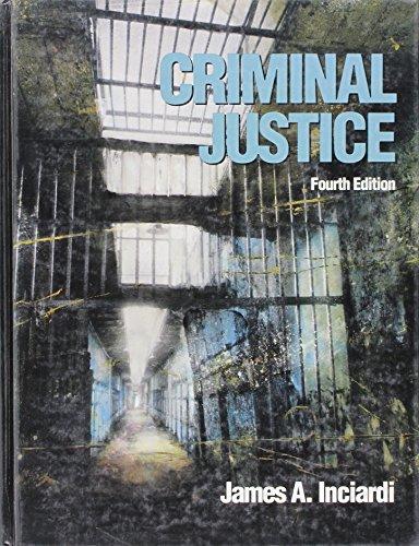 9780155001282: Criminal Justice