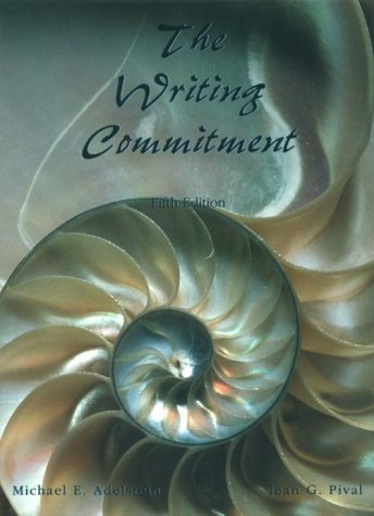 9780155001671: The Writing Commitment