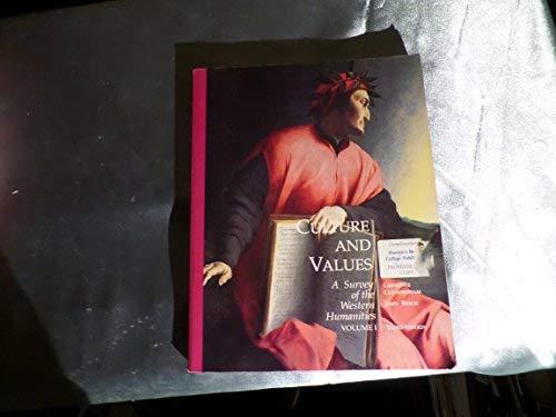 Culture and Values: v. 1: A Survey: Reich, John J.,