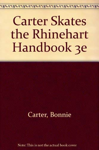 9780155002692: Carter Skates the Rhinehart Handbook 3e