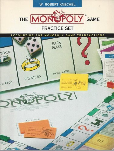 9780155003040: Monopoly Practice Set: Accounting for Monopoly Game Transactions